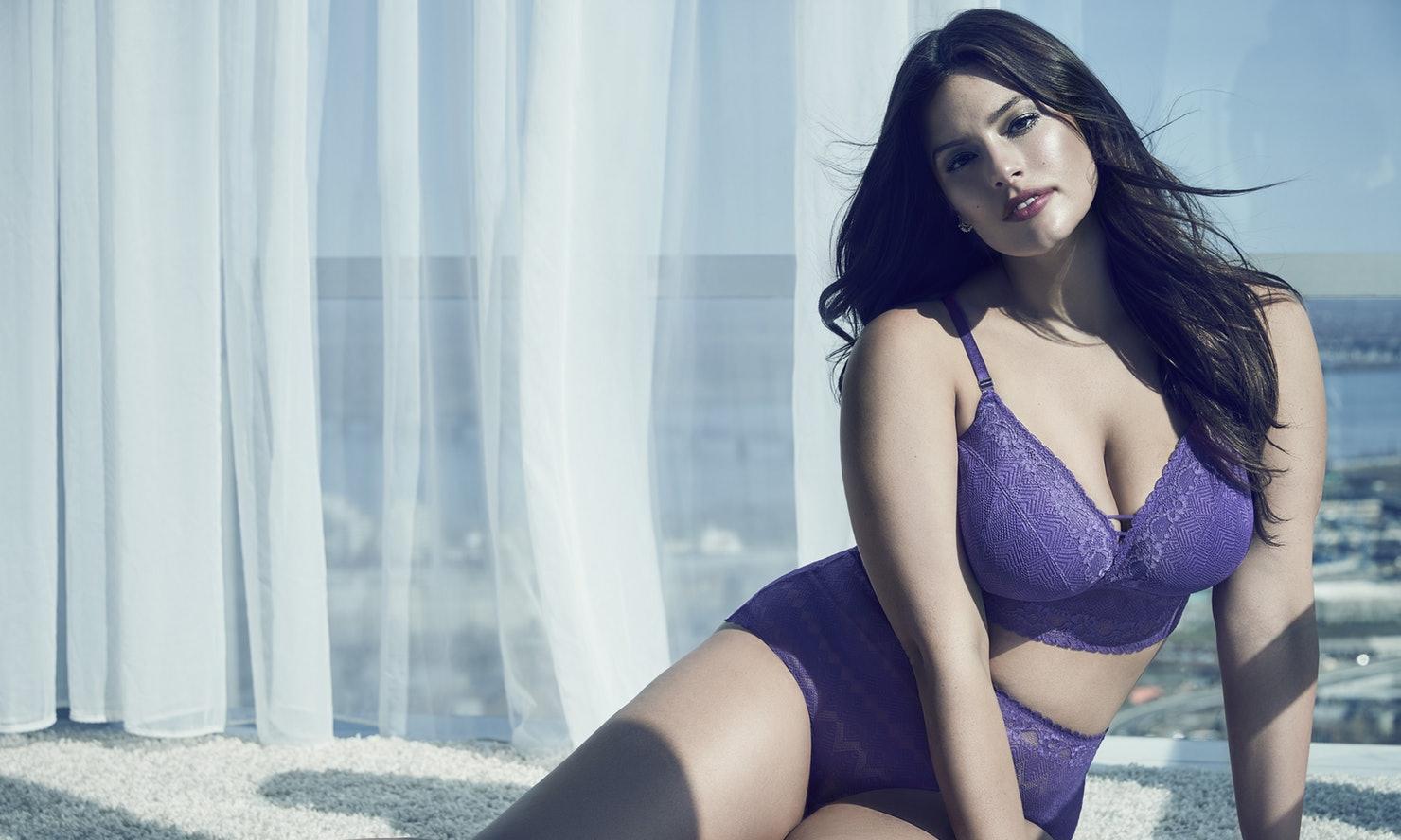 de18756720cf5 Purple Rain by Ashley Graham - New lingerie collection has landed ...