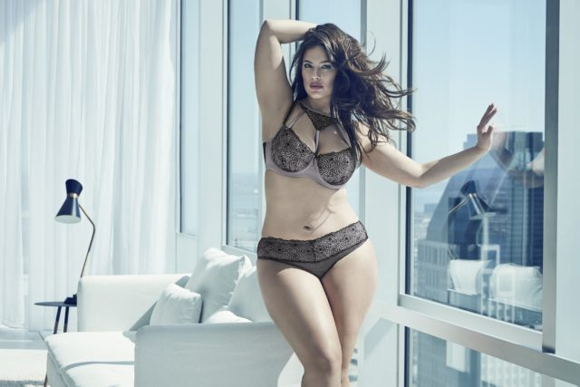 ASHLEY GRAHAM DIVA BRA WITH MATCHING PANTY