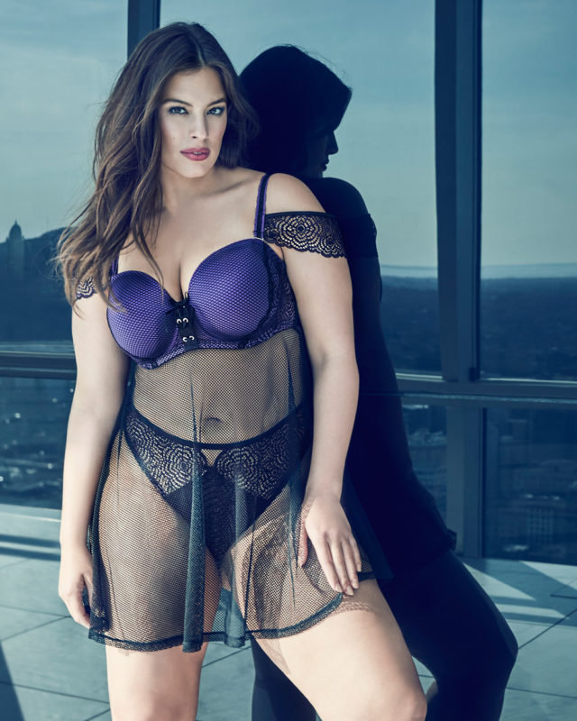 Ashley Graham New Addition Elle Collection - The Purple Rain