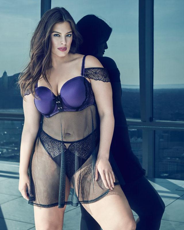 Ashley Graham New Addition Elle Collection - The Purple Rain
