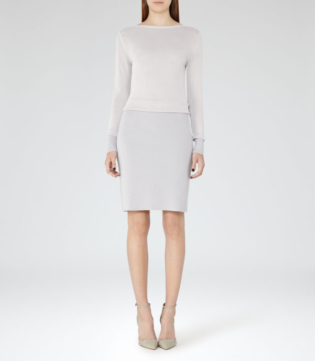 BLUME  KNITTED DRESS GREY