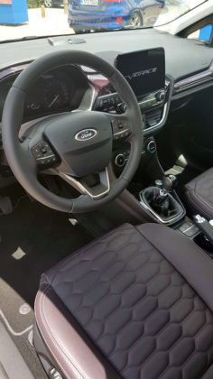 Inside the Ford Fiesta Vignale