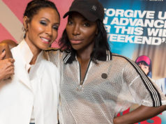 Jada Pinkett Smith and Michaela Coel