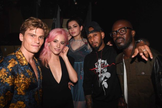 Oliver Cheshire, Pixie Lott, Charli XCX, Swizz Beatz and Black Coffee at BACARDÍ X The Dean Collection presents NO COMMISSION BERLIN