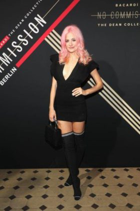 Pixie Lott at BACARDÍ X The Dean Collection presents NO COMMISSION BERLIN