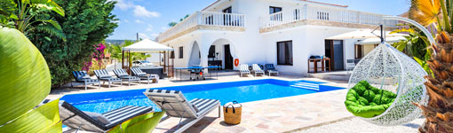 So much space and our own private pool! - See all holiday Rentals
