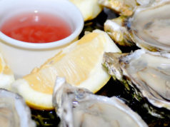 oysters at the rivington greenwich