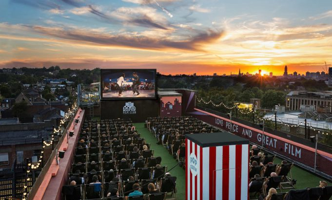 Date Night - Rooftop film club
