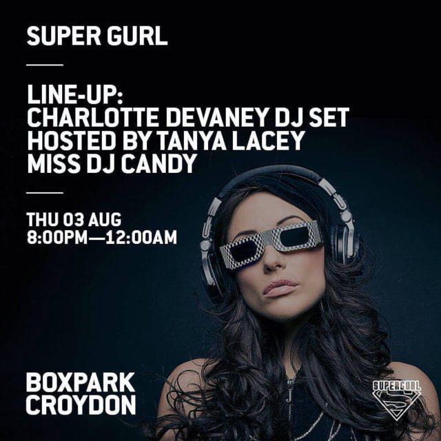Super Gurl Events at Box Park Croydon