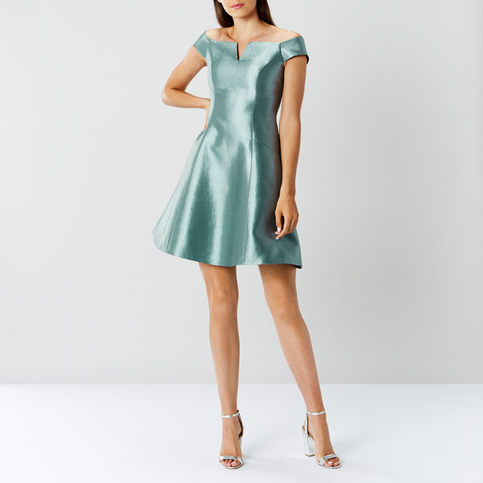 Coast whats new - Amelle Green Dress