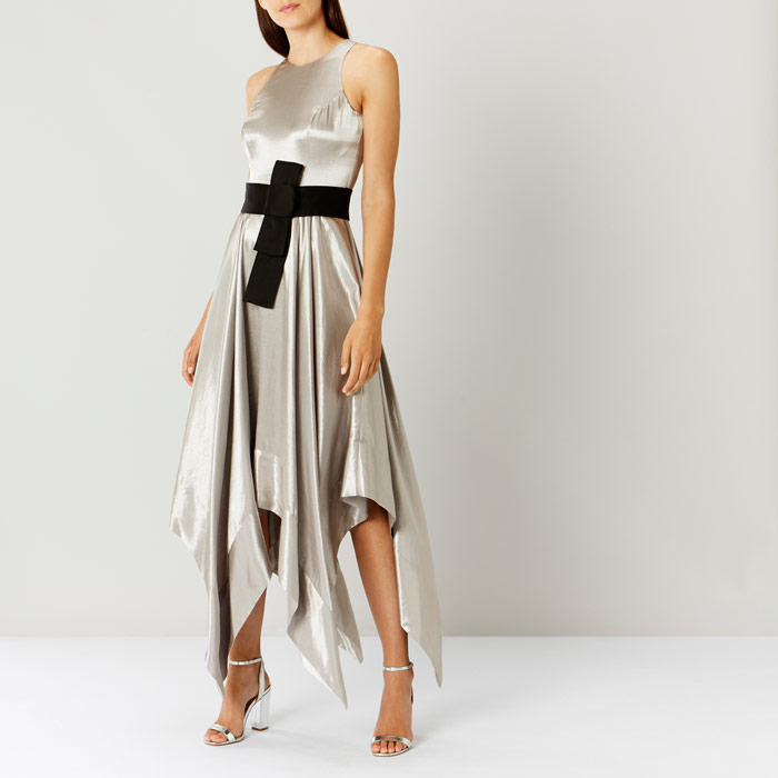 Elvie Metallic Maxi Dress