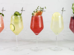 Grey Goose grand le fizz cocktails