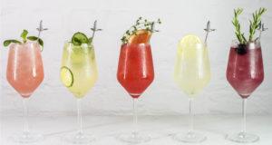 Grey Goose grand le fizz cocktails