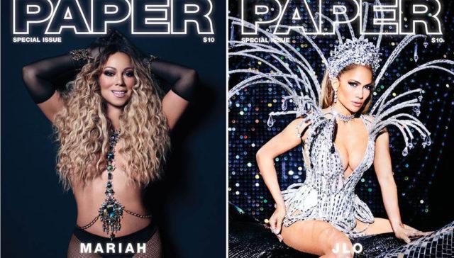 JLO Mariah strip for Paper Mag