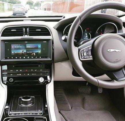 Jaguar XE Portfolio dashboard by Leonard W Foster