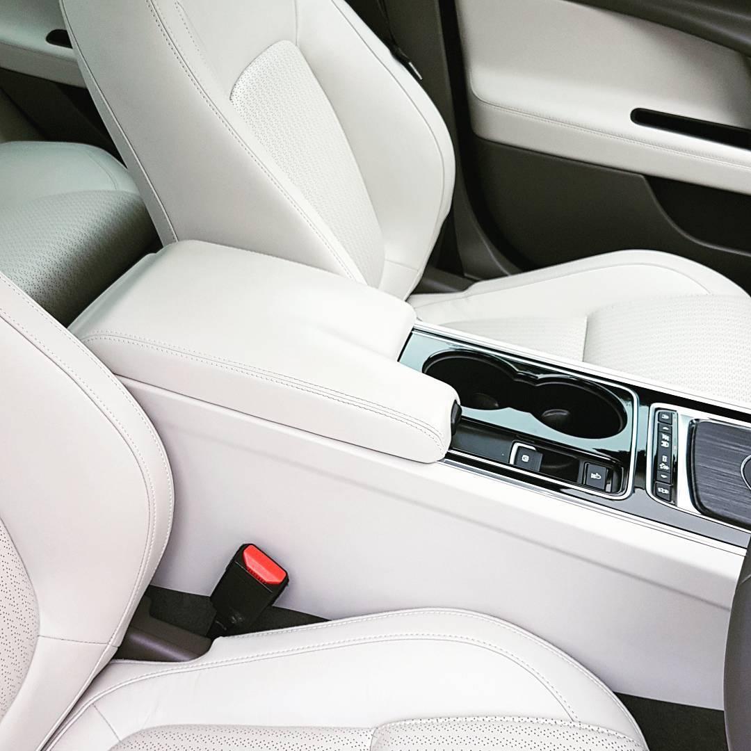 Jaguar XE Portfolio interior by Leonard W Foster