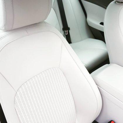 Jaguar XE Portfolio seats by Leonard W Foster