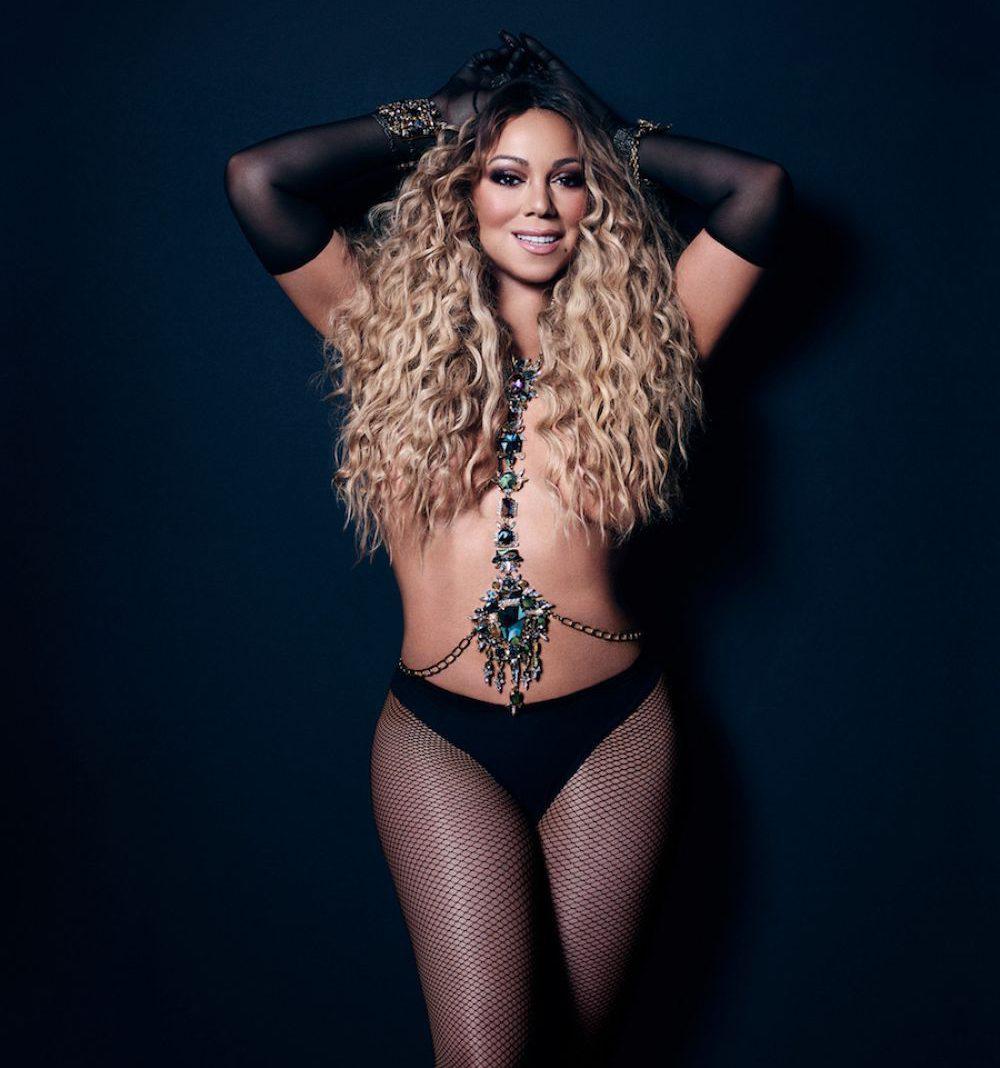 Mariah Carey Topless Lingerie 4
