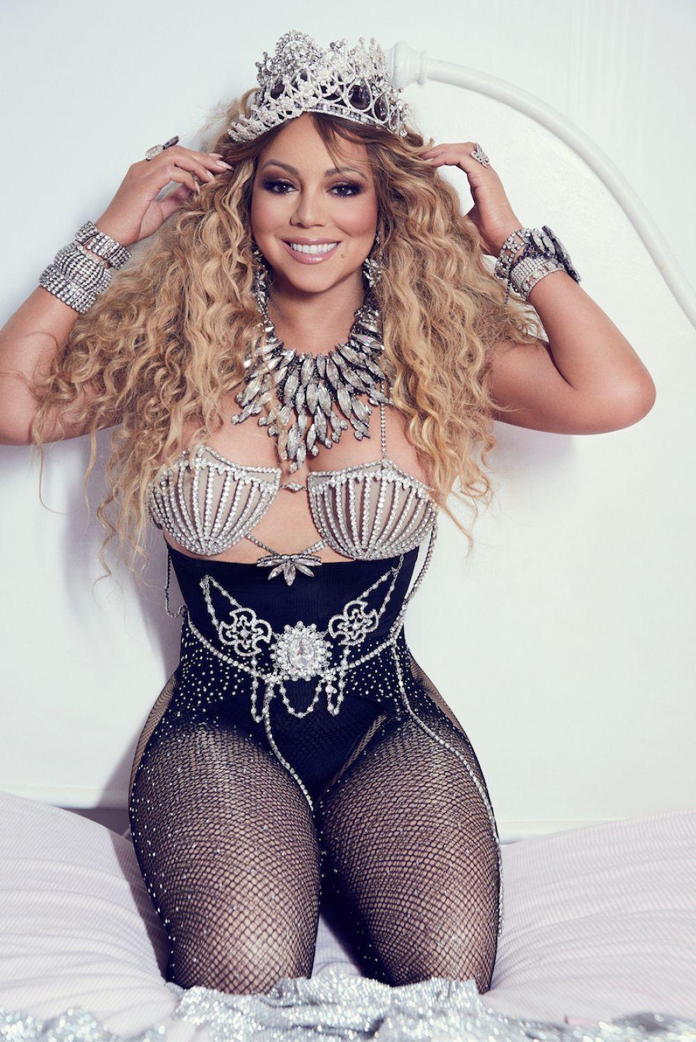 Mariah Carey Topless Lingerie