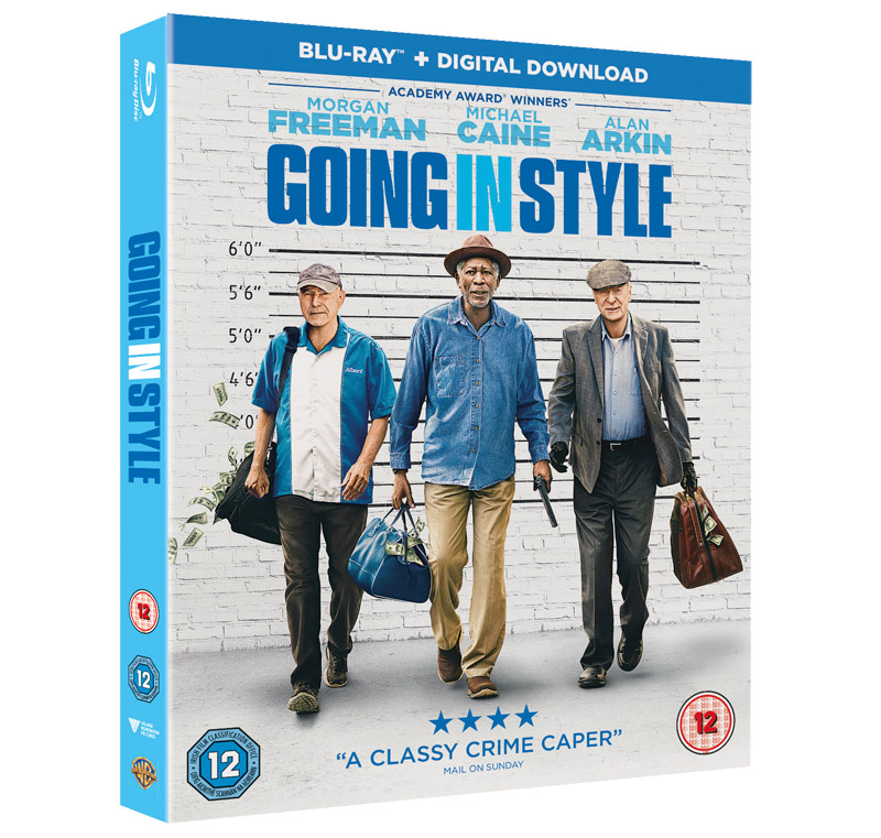 going in style dvd case