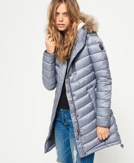 Chevron Fur Super Fuji Jacket