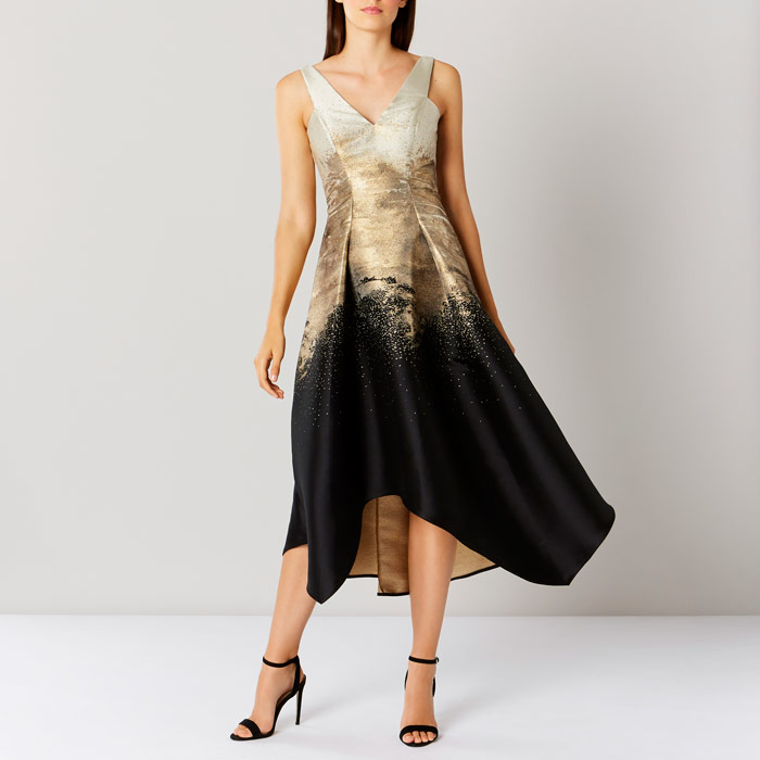 Erla Jacquard Maxi Dress