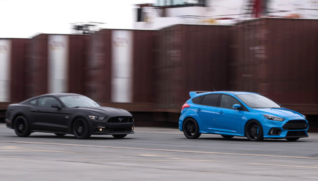 Ford Go Faster stunt driving event