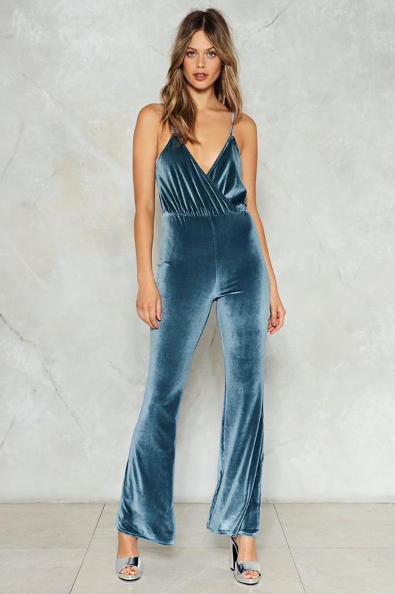 Get Down Velvet Jumpsuit