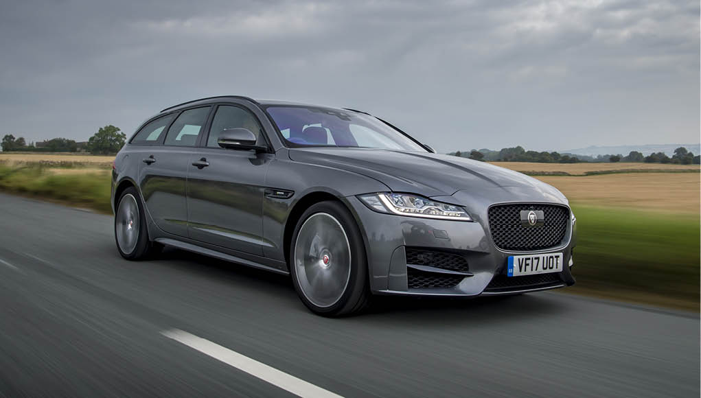 The Jaguar XF Sport Brake