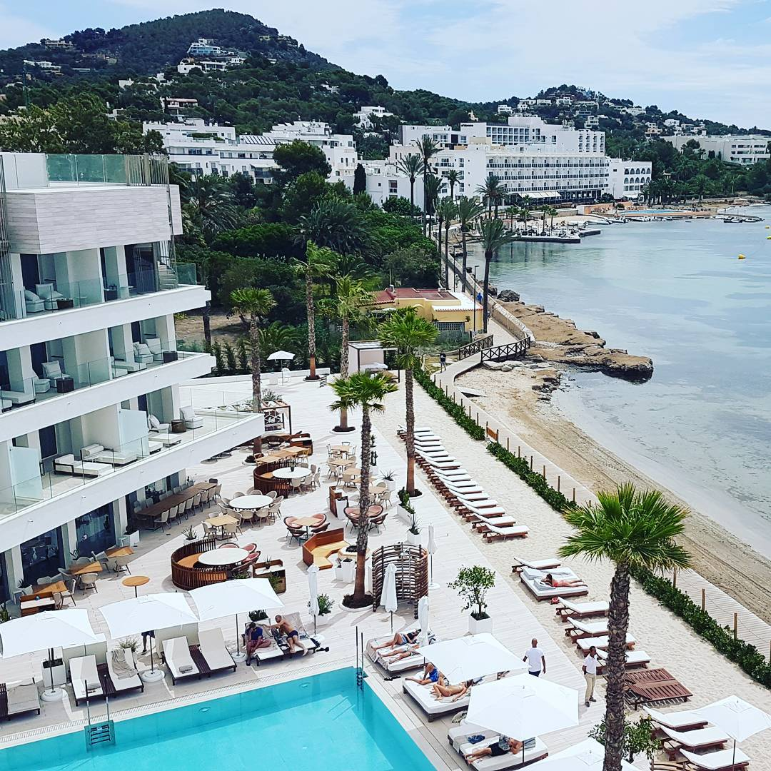 Nobu Hotel Ibiza Bay - The view from the roof