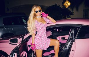 Paris Hilton strips like a Barbie