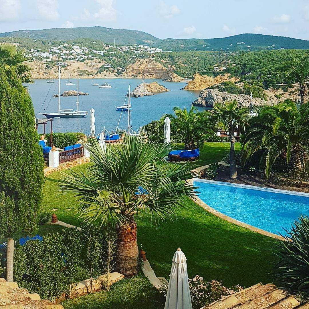 The view from my room at Hotel Las Brisas