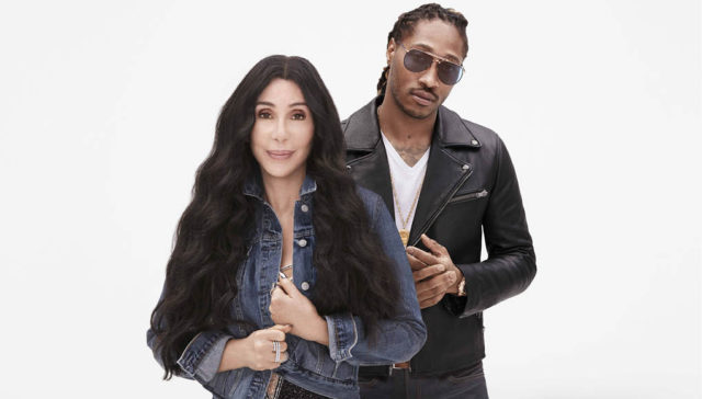 cher and future meet me in the gap campaign