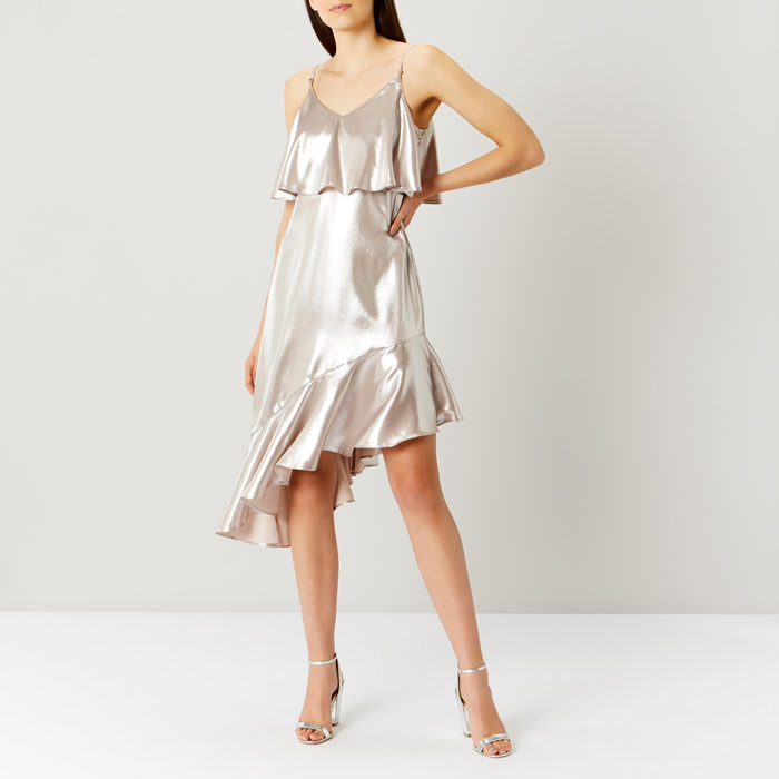 Belize Metallic Cami Dress