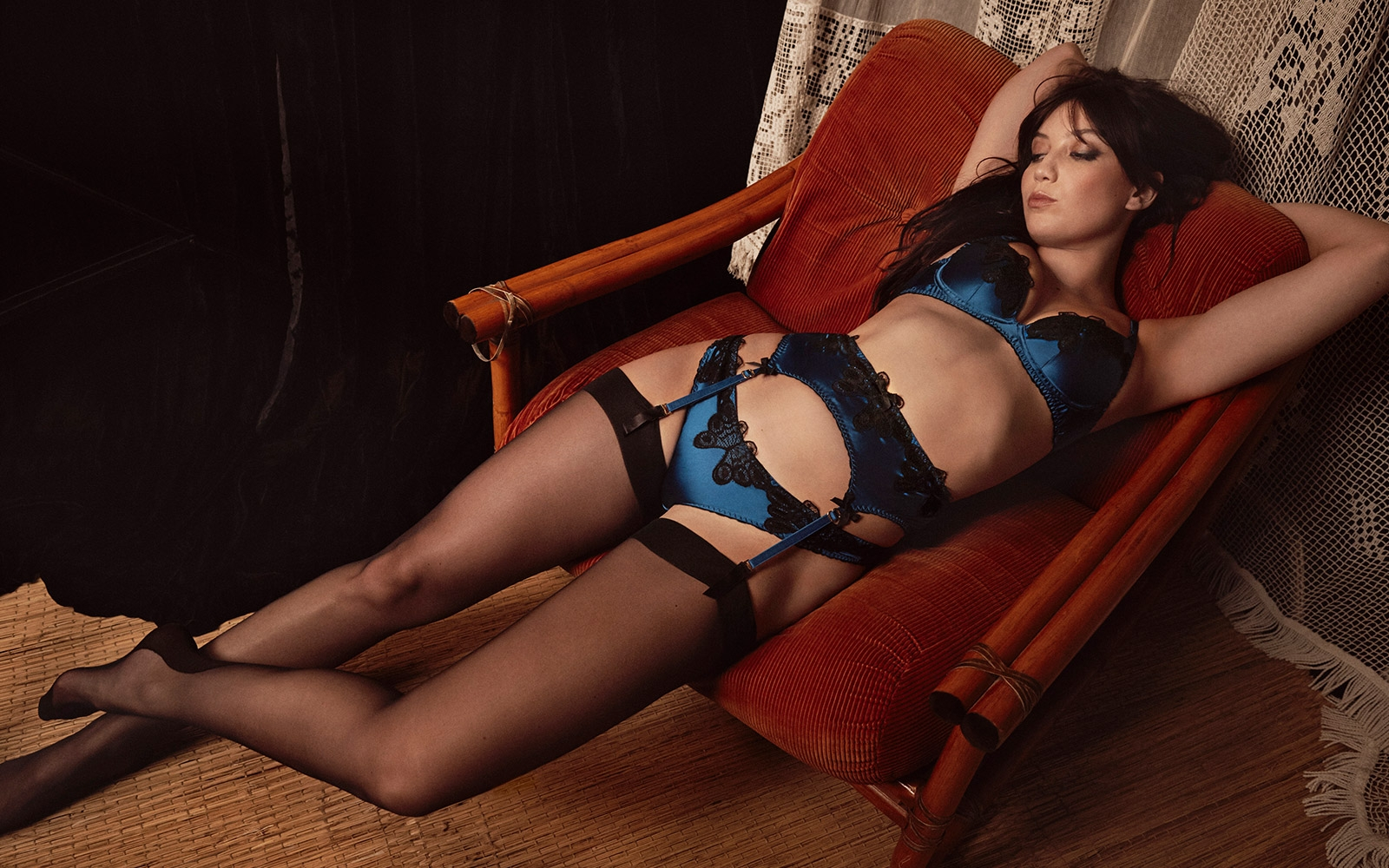 Caught in the act - Daisy Lowe stuns in Agent Provocateur AW17 lookbook