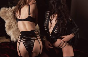 Caught in the act - Agent Provocateur aw17 - daisy lowe nude