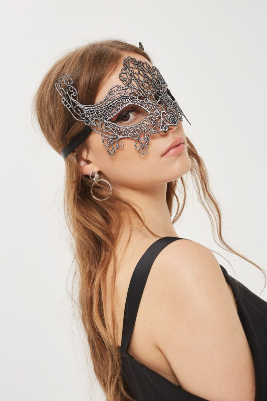 Filigree Silver Mask