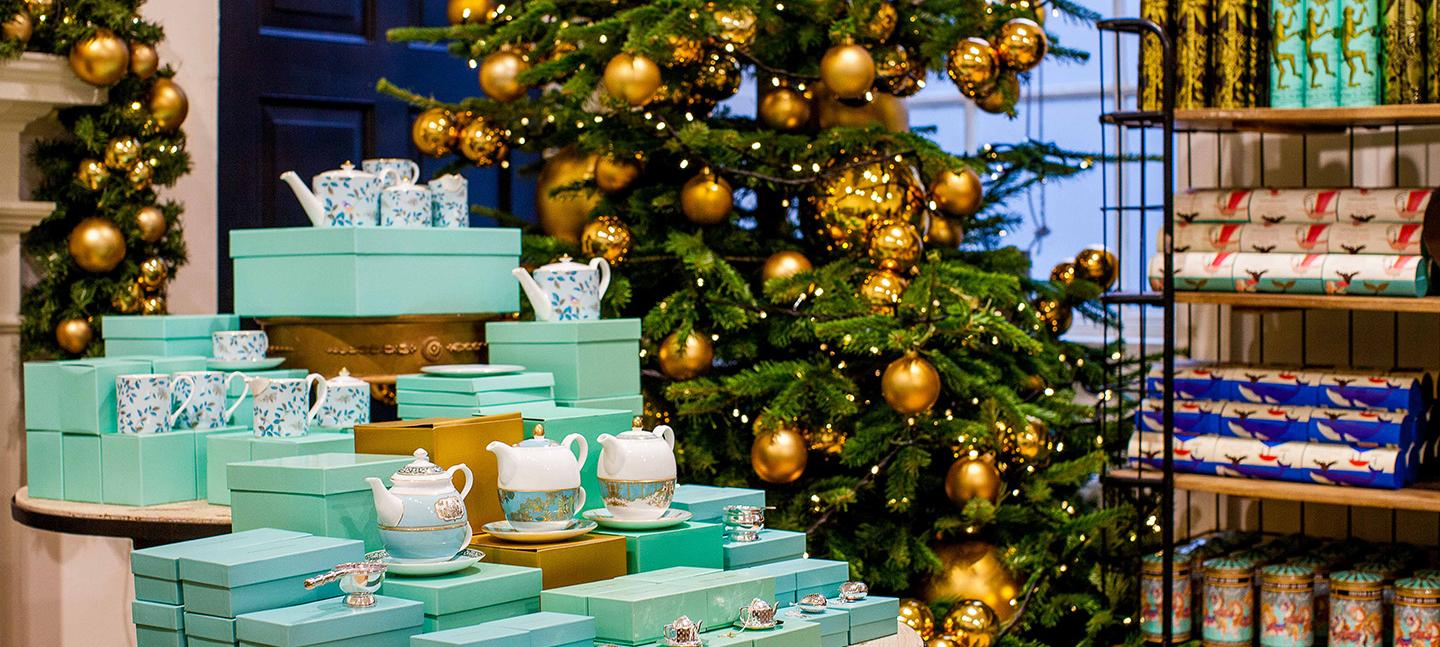 Fortnum's Christmas Arcade at Somerset House. (c) Hoda Davaine