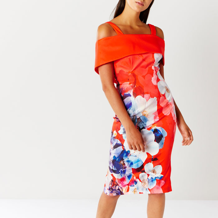 Immo Print Shift Dress