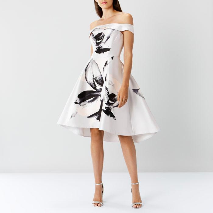 Victorie Print Dress