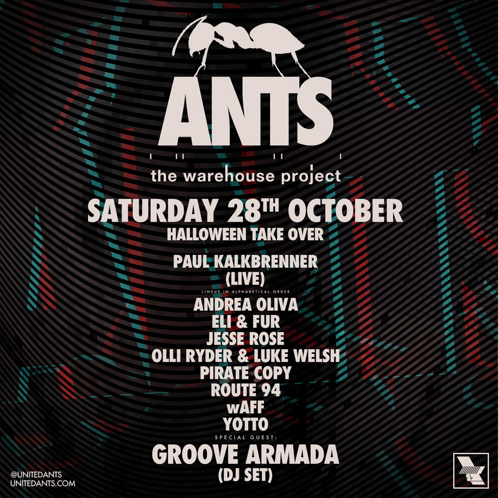 ants halloween takeover