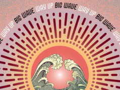 big wave - way up