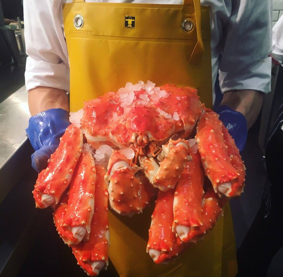 fancy crab food