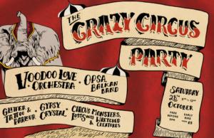 the crazy circus party