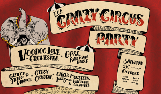 the crazy circus party