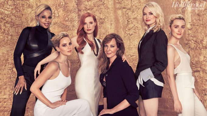 Actress Roundtable- Jennifer Lawrence, Emma Stone and Top Stars on Harassment in Hollywood and Ideas for Industry Change