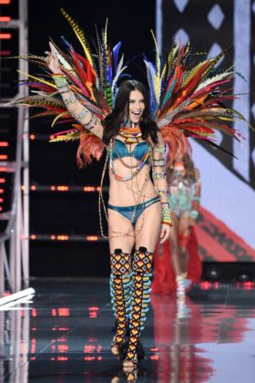 Adriana Lima walks the 2017 Victoria's Secret Fashion Show