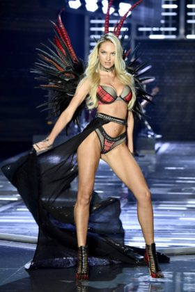 Angel Candice Swanepoel walks the 2017 Victoria's Secret Fashion Show