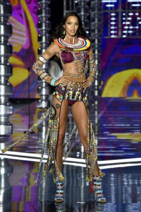 Angel Lais Ribeiro walks the 2017 Victoria's Secret Fashion Show