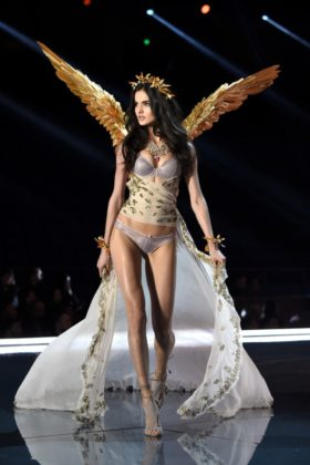 Blanca Padilla walks the 2017 Victoria's Secret Fashion Show